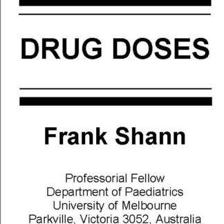 Frank Shann - Drug Doses - 2017