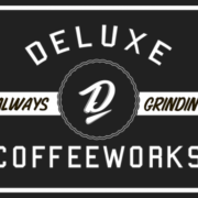 Deluxe logo – Always grindin' black