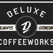 Deluxe logo – Always grindin' black